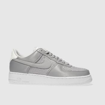 Nike Light Grey Air Force 1 07 Se Womens Trainers