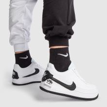 quality design 28aa5 b0891 nike white   black air force 1 jester xx trainers