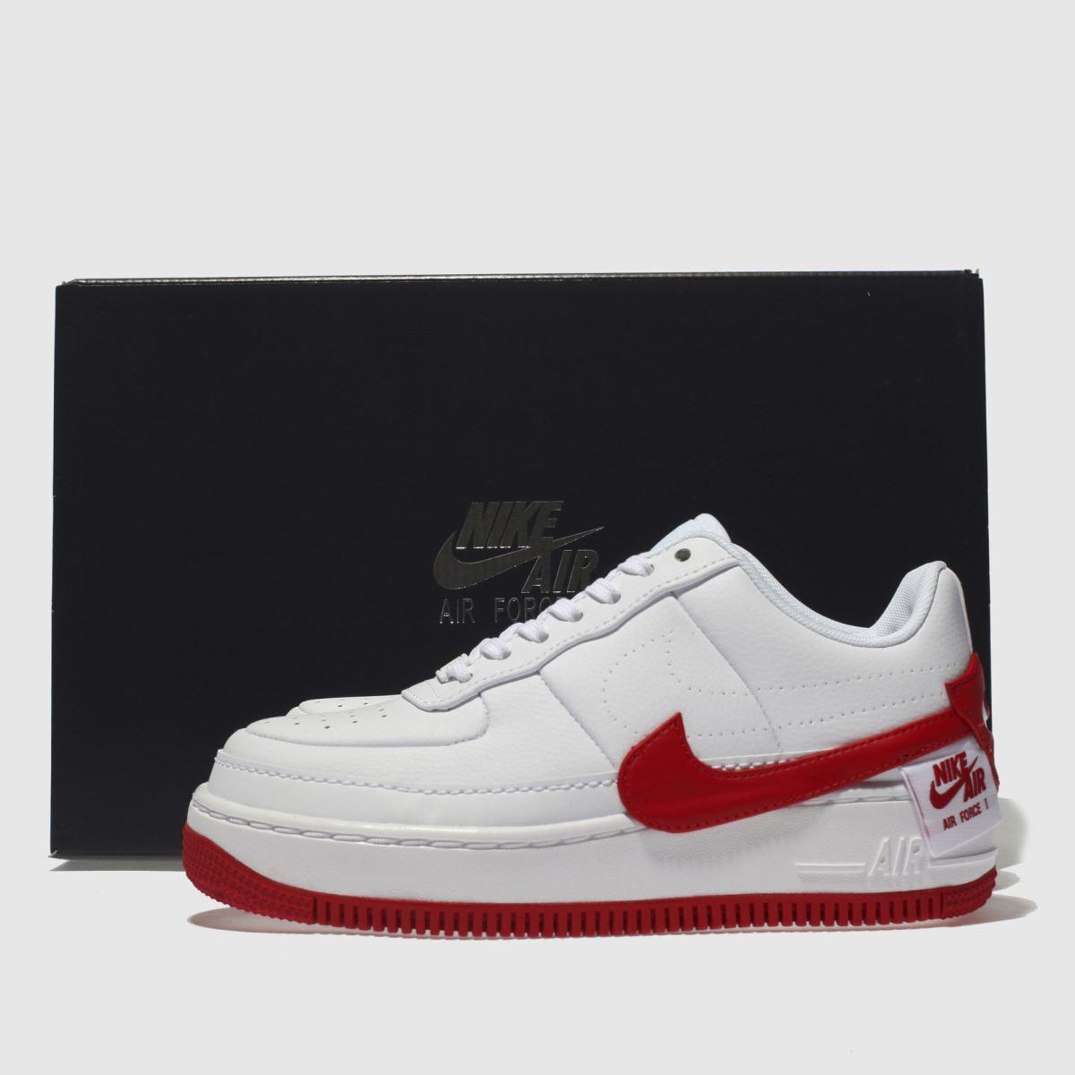 Damen Weiß-rot nike Air Force 1 Jester Xx Sneaker   Schuhe schuh Gute Qualität beliebte Schuhe   4a25b7