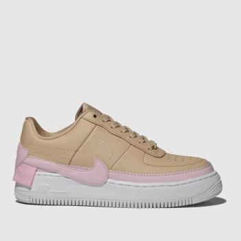Nike Beige Air Force 1 Jester Xx Womens Trainers