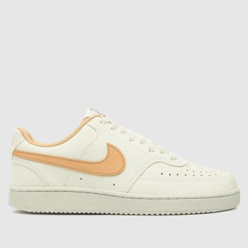 Nike White & Orange Air Max 270 Womens Trainers