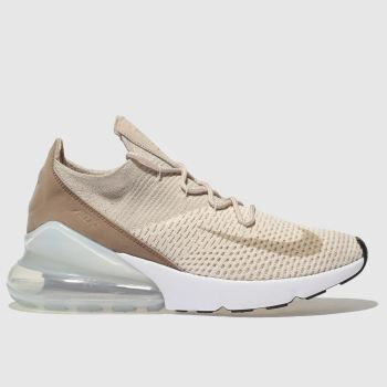 Nike Natural Air Max 270 Flyknit Womens Trainers