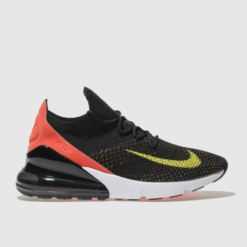 Nike Black Air Max 270 Flyknit Womens Trainers
