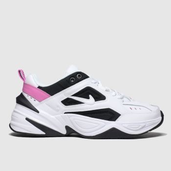 Nike White & Black M2k Tekno Womens Trainers