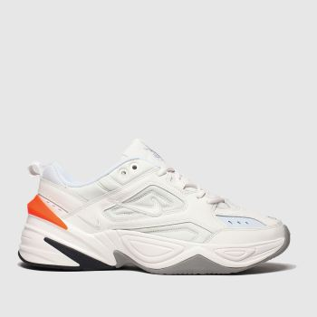 Nike white & grey m2k tekno trainers