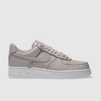 Nike Pink Air Force 1 Lo Womens Trainers