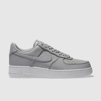 Nike Grey Air Force 1 Lo Womens Trainers