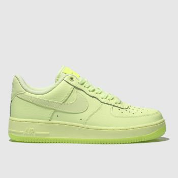 Nike Green Air Force 1 07 Essential Womens Trainers