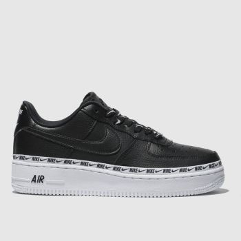 Nike Black Air Force 1 07 Se Premium Womens Trainers