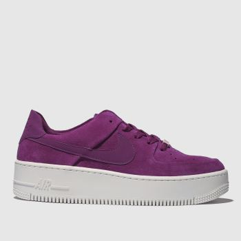 Nike Pink Air Force 1 Sage Low Womens Trainers