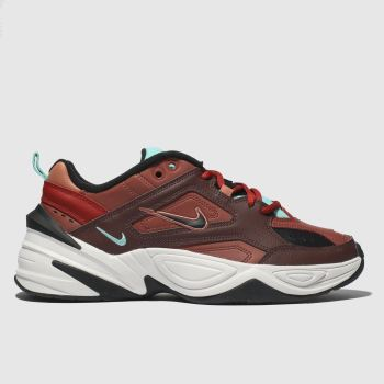wholesale dealer 6ee15 57141 Nike Burgundy M2k Tekno Womens Trainers