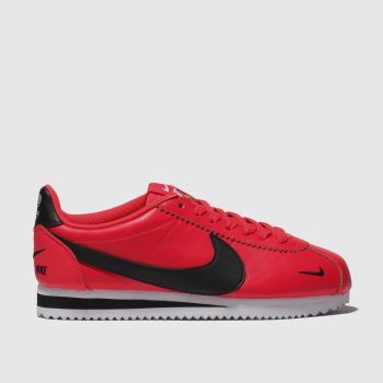 Nike Pink Cortez Premium Womens Trainers