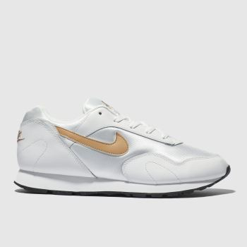 Nike White Outburst Womens Trainers