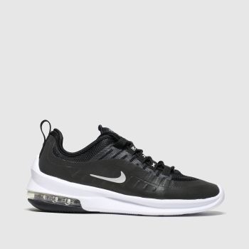 Nike Black & Silver Air Max Axis Womens Trainers