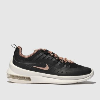 Nike Black   Beige Air Max Axis Womens Trainers 455725045