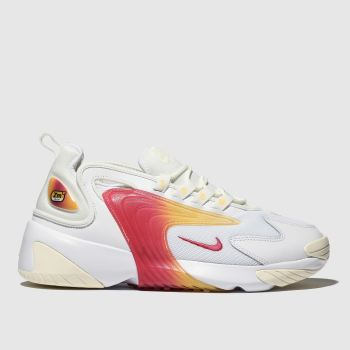 Nike White & Pink Zoom 2k Womens Trainers