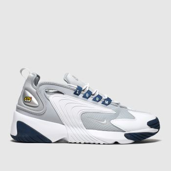 nike light grey zoom 2k trainers