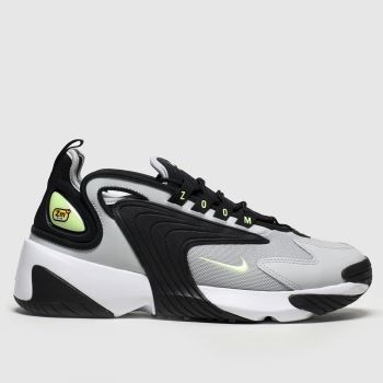 Nike Grey & Black Zoom 2k Womens Trainers