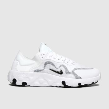 Nike White & Black Renew Lucent Womens Trainers