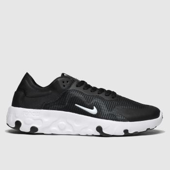 Nike Black & White Renew Lucent c2namevalue::Womens Trainers