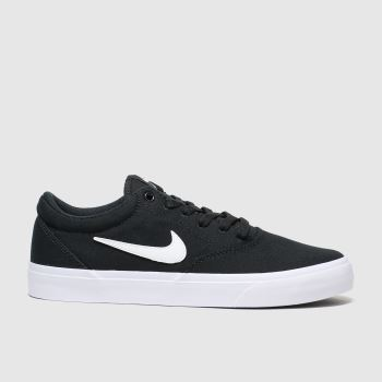 Nike SB Black & White Charge Womens Trainers#