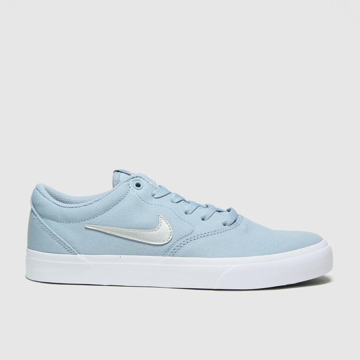 Nike SB Nike SB Pale Blue Charge Trainers