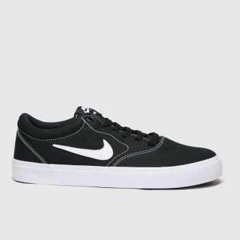 Nike SB Black & White Charge Womens Trainers