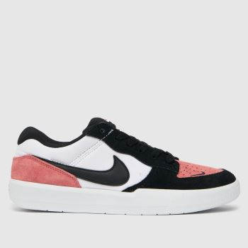 Nike SB White & Pink Force 58 Womens Trainers
