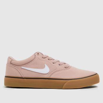 Nike SB Pale Pink Chron 2 Womens Trainers