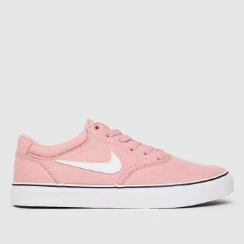 Nike SB Pink Chron 2 Womens Trainers