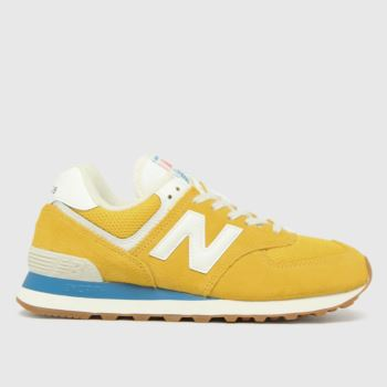 New balance Gold 574 Womens Trainers