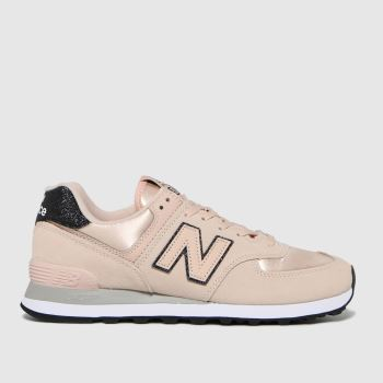 New balance Pale Pink 574 Womens Trainers