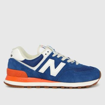 New balance Blue 574 Womens Trainers