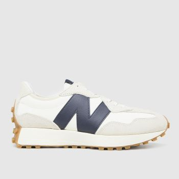 New balance White & Black 327 Womens Trainers