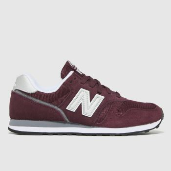 New balance Burgundy Nb 373 Womens Trainers