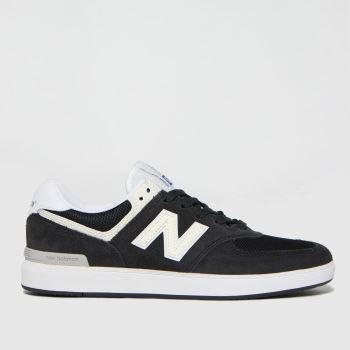 New balance Black & White All Coasts 574 Womens Trainers