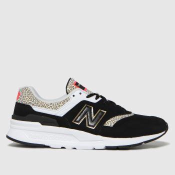New balance Black & White 997 Trainers