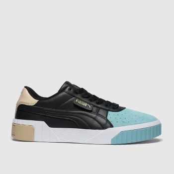 Puma Black and blue Cali Remix Trainers