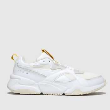 Puma White Nova 2 Womens Trainers