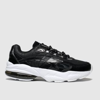 Puma Black & White Cell Venom Hypertech Womens Trainers