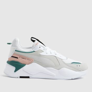 PUMA White Rs-x Reinvent Womens Trainers