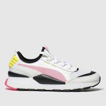 Puma White & Pink Rs-0 Reinvent Womens Trainers