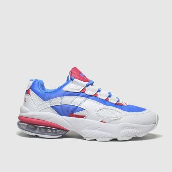 Puma White & Blue Cell Venom Shift Trainers