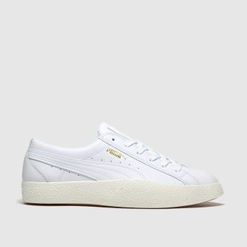 PUMA White & Gold Love Wins Womens Trainers