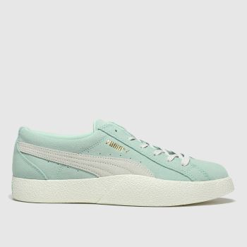 Puma Dark Green Love Wns Trainers