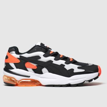 Puma Black & Orange Cell Alien Og Womens Trainers