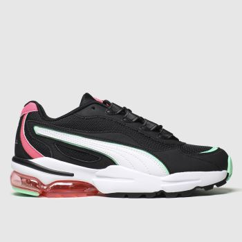 Puma Black & pink Cell Stellar Trainers
