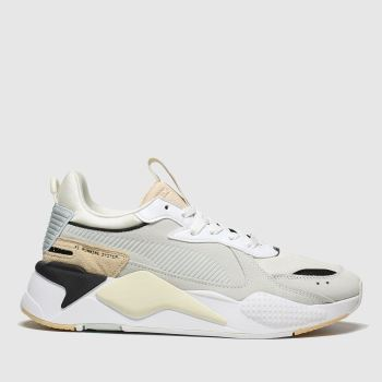 Puma White & Beige Rs-x Reinvent Womens Trainers
