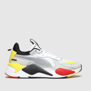 Puma White & grey Rs-x Toys Womens Trainers