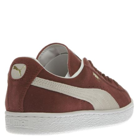 0bb5442dc372 Puma Suede Classic Burgundy Womens wearpointwindfarm.co.uk